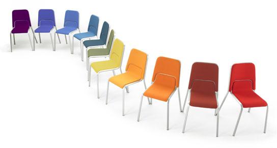 Stolar stapelbara burgess ergonomiska konferensstolar